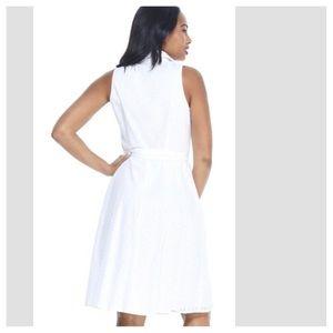 London Times Dresses - LONDON TIMES CRAWFORD SHIRT DRESS
